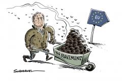 """Gespräche mit Vertretern ultrarechter Parteien zur EU-Wahl: Bannon will mit """"The Movement"""" Europa beeinflussen"""