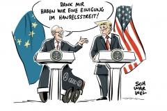 Einigung im Handelsstreit: EU-USA-Deal bedroht fairen Welthandel