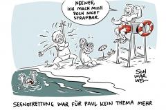 Kriminalisierung von Seenotrettung: Italien ermittelt gegen deutsche Flüchtlingsretter