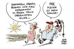Anhaltende Trockenheit und Hitze in Deutschland: Bauern um Ernten und Erzeugnisse besorgt