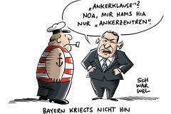 """Ankerzentren in Bayern gestartet: """"Wahlkampf auf dem Rücken von Flüchtlingen"""""""