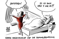 Online-Plattform startet: Wagenknecht sucht linke Mehrheit mit aufstehen.de