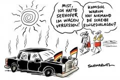 Bundesinnenminister: Seehofer ist für sein schlechtes Image selbst verantwortlich, Längste Dürre seit Beginn der Wetteraufzeichnung