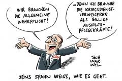 Rekrutierungsprobleme: CDU diskutiert über Wiedereinsetzung der Wehrpflicht