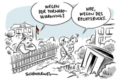 """Hitzerekorde: Ab Mittwoch drohen Unwetter und Tornados, """"Day Orange"""": Proteste gegen Rechtsruck und Ausgrenzung"""