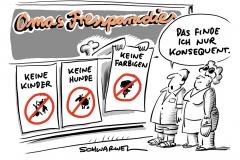 """""""Adults-only""""-Restaurant: Kinder müssen draußen bleiben"""