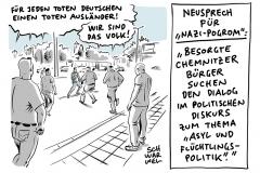 """Ausschreitungen in Chemnitz: Bundesregierung: """"Hetzjagden nehmen wir nicht hin"""""""