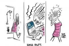Soziale Netzwerke und fehlende Medienkompetenz: Hass ohne Grenzen, verbale Verwahrlosung, Hetze, Morddrohungen