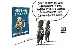 Helene Fischer: Schlagerstar und Antifa