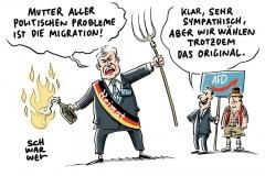 """Rechtspopulismus des Bundesinnenministers: Debatte über Seehofers """"Mutter aller politischen Probleme"""""""