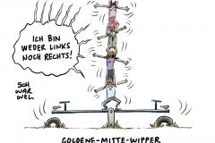 Chemnitz, Kretschmer, Seehofer, Maaßen: Suche nach der Meinung der Mitte