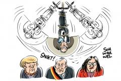 Umstrittener Verfassungsschutzpräsident Maaßen: Krisentreffen der Koalition im Kanzleramt