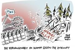 Energiewirtschaft kontra Ökologie: Polizei räumt Hambacher Forst für RWE
