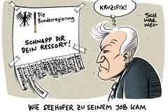 Innenminister: Horst Seehofer will Maaßen nicht entlassen