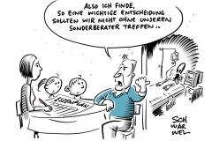 Koalition findet Maaßen-Kompromiss: Sonderberater statt Staatssekretär