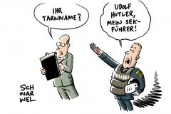 """Eklat um sächsische Polizisten: NSU-Terrorist """"Uwe Böhnhardt"""" auf Tarnnamenliste"""