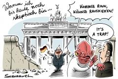 Berlin feiert 28 Jahre Deutsche Einheit: Berlins Regierungschef Michael Müller fordert mehr Anerkennung für Ostdeutsche