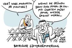 """Polibarometer"" vor Bayern-Wahl: Last-Minute-Umfrage verhagelt CSU den Endspurt"