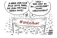 #unteilbar-Demo: Pogromklima in Deutschland beenden