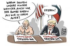 Abrüstungsabkommen mit USA: Russland warnt vor Ende des INF-Vertrags