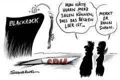 Kandidatur für CDU-Parteivorsitz: Blackrock will Merz nicht zurückhaben