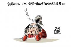 Notwendige Neuausrichtung: Steinbrück rät SPD zur Ablösung von Nahles