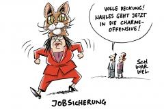 SPD-Parteichefin im Überlebenskampf: Nahles geht in die Offensive