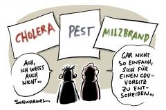CDU-Klausurtagung: Wer den Vorsitz will, muss Antworten liefern