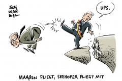 Verfassungsschutzchef verunglimpft Regierung: Seehofer schickt Maaßen in Ruhestand