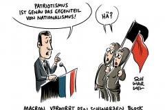 """Macron bei Gedenkfeier in Paris: """"Patriotismus ist genau das Gegenteil von Nationalismus"""""""