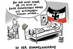 """Kanzlerin im EU-Parlament: Merkel plädiert für """"echte europäische Armee"""""""