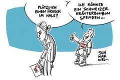 Alice Weidel und die schweizer Großspende: Verhalten der AfD peinlich und unprofessionell