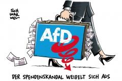 Auch NRW-Landesverband betroffen: AfD-Spendenaffäre weitet sich aus
