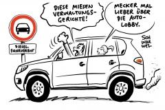 Kritik an Fahrverboten: Die Justiz ist nicht der Buhmann