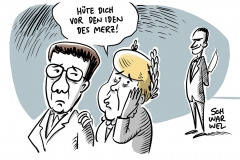 Kampf um CDU-Vorsitz: Kramp-Karrenbauer will bei Niederlage alle Parteiämter aufgeben