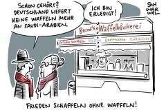 Wegen Fall Khashoggi: Deutschland stoppt alle Rüstungsexporte nach Saudi-Arabien
