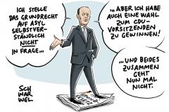 Nach rechtspopulistischem Vorstoss auf Grundrecht auf Asyl: Kandidat für CDU-Vorsitz Merz relativiert sich selbst