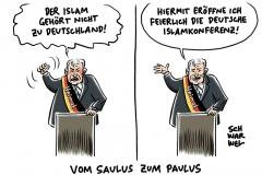 Deutsche Islamkonferenz: Seehofer will einen Islam für Deutschland