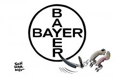 Konzernumbau: Bayer streicht 12.000 Stellen – viele davon in Deutschland