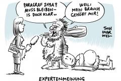 Abtreibungsparagraf 219a: Fauler Kompromiss zeigt die Rückgratlosigkeit der SPD