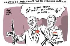 """Syrien: Trumps Befehl zum Truppenabzug """"Die Kurden werden die Verlierer sein"""""""