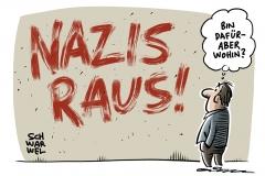 #NazisRaus bei Twitter: Erst Shitstorm, dann Solidarität mit Journalistin