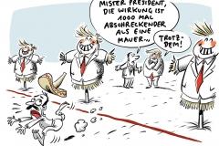 """Mauerbau hat Priorität: Trump nimmt langen """"Shutdown"""" in Kauf"""