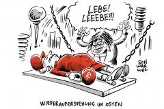 SPD in neuen Bundesländern: Tief im Osten soll pberwunden werden