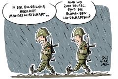Jahresbericht über Bundeswehr: Wehrbeauftragter kritisiert Mangelwirtschaft