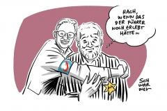 """Gefährliche Nähe von Medien und Politik: """"Welt""""-Kolumnist Broder bittet wegen Foto mit Weidel (AfD) um Entschuldigung"""