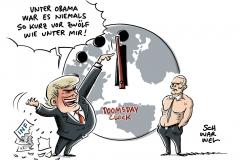 Streit mit Russland: USA kündigen INF-Abrüstungsvertrag auf