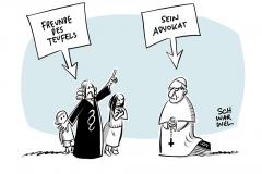 Sexueller Missbrauch Kirche stellt sich über Rechtsstaat