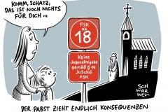 Katholisches Oberhaupt ohne konkrete Maßnahmen: Missbrauch in Kirche skandalöser als anderswo