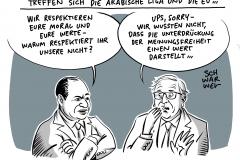 Gipfel von EU und Arabischer Liga: Streit über Menschenrechte sorgt bei Abschlusspressekonferenz für Eklat